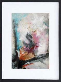 Abstract painting by Rikke Laursen