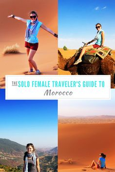 Morocco is a challenging place to travel through as a solo female, but if you persevere past the harassment, you'll find a colourful country full of history, culture and tradition.