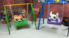 Easy DIY Custom LPS Doll Accessories: How to Make a Tiny Swing set