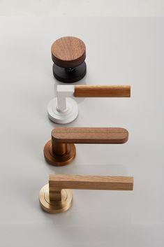Lever Door Handles, Pull Handles, Interior Door Knobs, Tropical Bathroom, Timber Door, Home Decor Lights, Terrazzo Flooring, Home Hardware, Modern Interior Design
