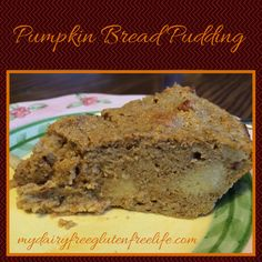 GF Pumpkin Bread Pudding Recipe