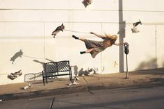 Incredible Levitation Photography by Mike Dempsey #inspiration #photography