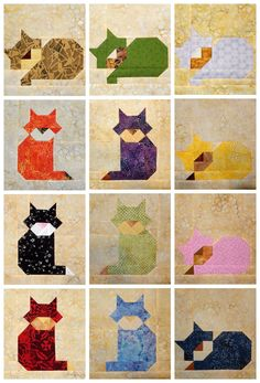 Cat Patches: A Trio of Cats
