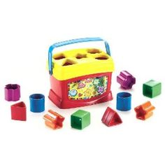 Fisher-Price Brilliant Basics Baby's First Blocks.  Sale Price: $9.90  More Detail: http://www.giftsidea.us/item.php?id=b000lszvka
