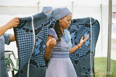 Storybook photography_ Beautiful Basotho wedding