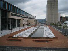 Prosjekter – Fortunen Sidewalk, Urban, Landscape, Scenery, Side Walkway, Walkway, Corner Landscaping, Walkways, Pavement