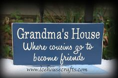 Don't forget grandma this Mother's Day...available @ www.icehousecrafts.com