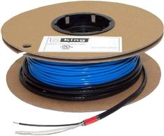 King Electric FC12240 120V 240W 80-Feet Floor Heating Cable by King. $105.22. King Electric FC12240 Floor Heating Cable 120V 240W 80-Feet. Introducing the highest quality, easiest to install in-floor heating solution available. Professional-grade quality components, effective beneath engineered wood, tile and stone. Emits zero EMF (electromagnetic fields) and is installed with an innovative strapping system that speeds installation. It is approved for wet and dry location...