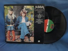 Vintage ABBA   Greatest Hits Vinyl LP Record by sweetleafvinyl, $4.99