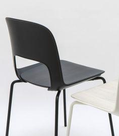 Check this out on leManoosh.com: #Black #Chair #Ergonomics #Furniture #Matte #Plastic #Screw #Structure #Wood