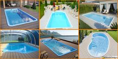 15 Modelli di Piscine Interrate in Vetroresina Monoblocco | MondoDesign.it List, Terrazzo, Outdoor Decor, House, Home Decor, Houses, Pools, Decoration Home, Home
