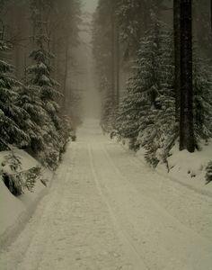 Winter corridor by inarmar on DeviantArt