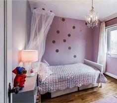 Polka Dots girl's room by claradeparis.com