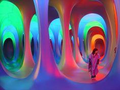 This is why Maurice Agis' Dreamspace tragically killed two people - Olivia - Moodboard Innenarchitektur Beste Iphone Wallpaper, Neon Aesthetic, Retro Futurism, Grafik Design, Art Design, Light Art, Installation Art, Art Installations, Art Inspo