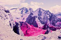 Image result for Dolomites in Infrared