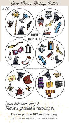 Cliquez sur l'image pour accéder au blog, vous pourrez télécharger les fichiers gratuitement pour fabriquer vos jeux sur le thème Harry Potter! Le 2ème jeu, le DOBBLE. Un jeu très facile à fabriquer et à jouer ! Parfait pour les petits et les grands ! Vous trouverez toutes les cartes et un fond sur mon site. Carte Harry Potter, Theme Harry Potter, Harry Potter Activities, Harry Potter Printables, Cluedo, Activities For Kids, Crafts For Kids, Anniversaire Harry Potter, Images Harry Potter