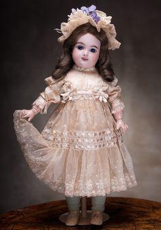 45 см Редкая кукла Eden Bebe фирмы Fleischmann & Bloedel - 1890 годы.