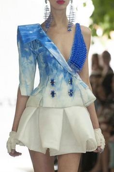 burningmirrors:  On Aura Tout Vu Fall 2013 Couture Details