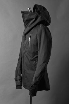 deviant blog -N/07 ANORAK JACKET / SUPIMA WEATHER CLOTH