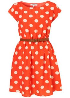 Simply Cute Polka Dot Dress Collection 2013