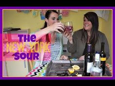 The New York Sour | Pinterest Drink #63 | MamaKatTV
