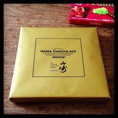 頂き物 ロイズの山崎生チョコ!ラミーも食べる - @sakkn- #webstagram