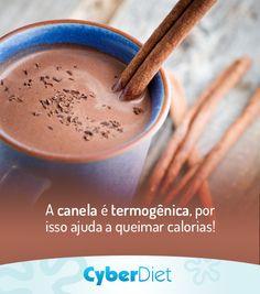 Chocolate quente light que te ajuda a emarecer! A receita é bem simples: leite desnatado, achocolatado em pó diet e uma pitada de canela! http://cyberdiet.terra.com.br/alimentos-termogenicos-12-1-12-82.html