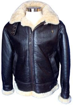 B3 Sheepskin Bomber Jackets From VillageShop.com