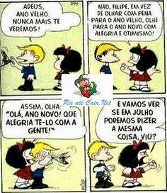 Ano Novo Visto Pela Mafalda