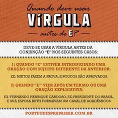 Dúvidas quanto ao usa da vírgula? Confira as dicas para usar corretamente a pontuação! #dicas #português #gramática #língua #escreva #estude #concursos #concurseiros