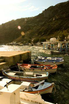 Armeni Port, Santorini, Greece