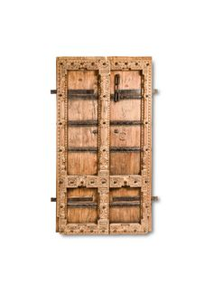 Indian Doors, Natural Wood Finish, Wood Doors, Tall Cabinet Storage, Arts And Crafts, Antiques, Design, Home Decor, Wooden Doors