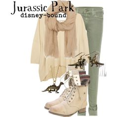 """Jurassic Park"" by disney-bound on Polyvore"
