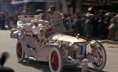 """In the movie """"The Great Race"""" you may have liked the """"Leslie Special"""" . but did you think they'd ever put it in another movie? Cinema Movies, Movie Tv, Famous Movie Cars, The Great Race, Car Gadgets, Dirty Dancing, Jeep Truck, Kustom, Cool Cars"""