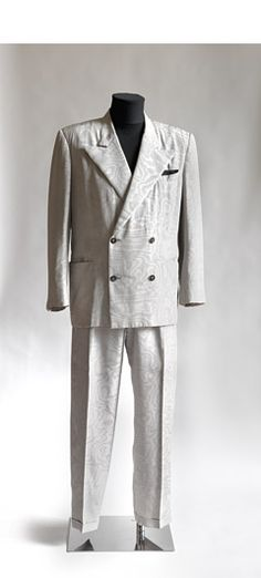 """Helmut Lang suit, worn by Falco in the video for """"Brilliantin' Brutal'"""" in 1984"""