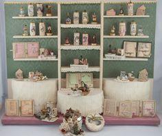 Damen Parfüm Fach Unikat Puppenhaus Maßstab 1/12 von Scarletts45