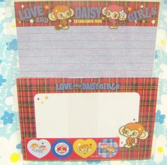 Rainbow Park / Daisy Lovers Love and Daisy Girls Letter Set / Japan Stationery