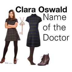 Clara Oswald - Name Of The Doctor - Polyvore