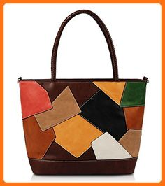 f9fa9de0ff67 Sophie Patchwork Tote (Chocolate) - Totes ( Amazon Partner-Link)