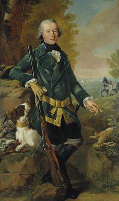 Johann Heinrich Tischbein: Portrait of Baron Emilius Ulrich von Donop. 1765