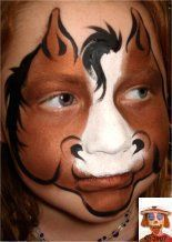 Step by step face painting - SNAZAROO #stepbystepfacepainting