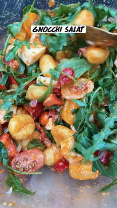 Low Calorie Recipes, Easy Healthy Recipes, Veggie Recipes, Whole Food Recipes, Easy Meals, Gnocchi, Tasty Dishes, Soul Food, Food Hacks