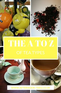 Check out the different types and flavours of tea with us in the A to Z of tea types!