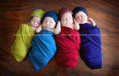 The Cruise Quadruplets! Congrats to the Cruise family. I remember these days. (: Photo by Jessica Cole @jessicacolephotoblog.com.