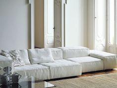 Sofá modular EXTRASOFT by Living Divani design Piero Lissoni