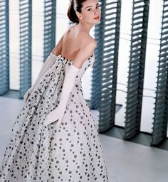 Audrey. in polka dots. i'm dying! love!!!!