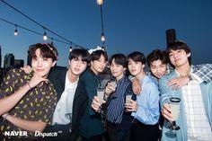 BTS Anniversary in LA Party Photoshoot by Naver x Dispatch Jung Hoseok, Kim Namjoon, Kim Taehyung, Suga Rap, Bts Bangtan Boy, Jhope, Bts Jimin, Park Ji Min, Foto Bts