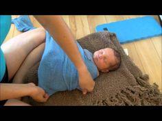 Wrapping Newborn Baby
