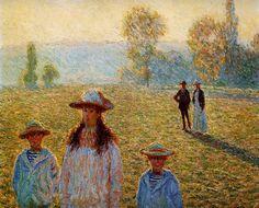The Customs House, Morning Effect ~ Claude Monet or Claude Oscar Monet (November…