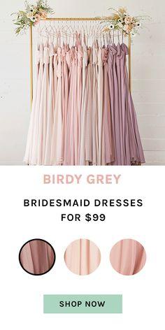 Bridesmaid Dresses Under 100, Affordable Bridesmaid Dresses, Bridesmaid Dress Colors, Wedding Dresses, Plan My Wedding, Cute Wedding Ideas, Dream Wedding, Wedding Inspiration, Blush Wedding Theme